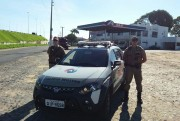PM de Araranguá ativa viatura no extremo-sul da cidade